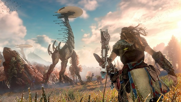 Папка «Фото»_ Все для геймеров! Обзор бестселлеров и ожидаемых игровых новинок – Horizon Zero Dawn.