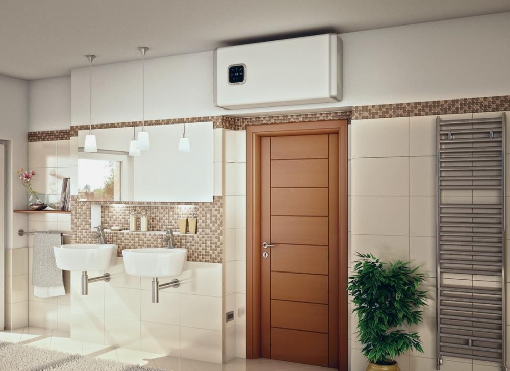 Правила слива воды из водонагревателя - водонагреватель над дверью