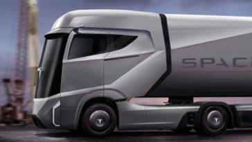 Самоуправляемый грузовик Tesla