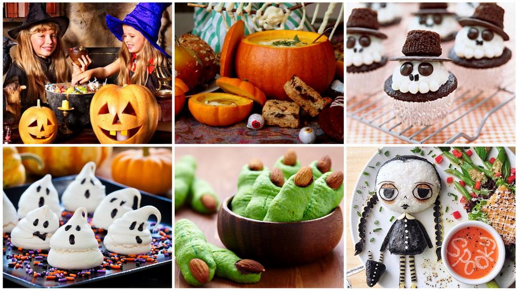 Стол на Хэллоуин-как вкусно отметить праздник