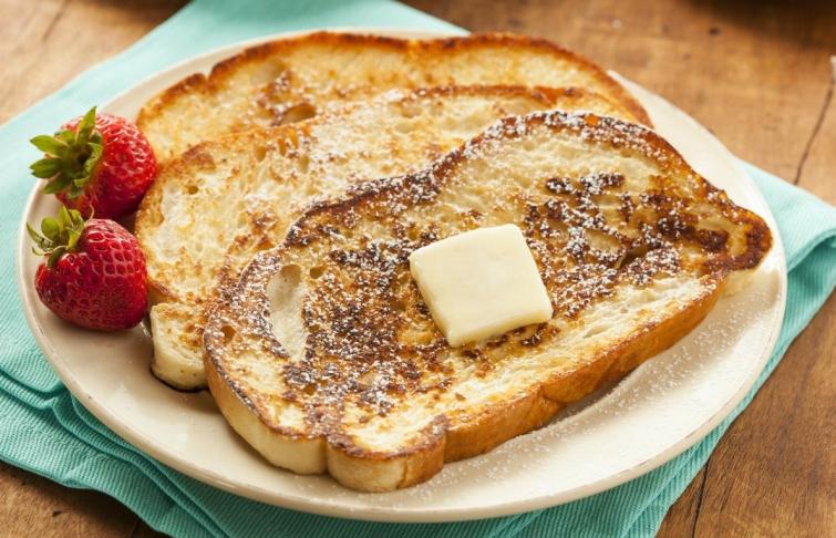 Тосты-идея для завтрака