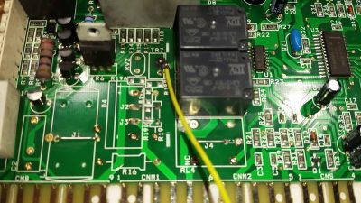 Электронный модуль автоматической стиральной машины