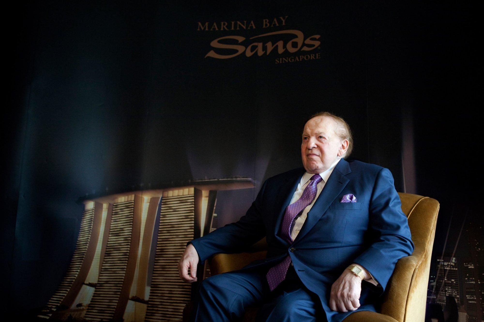 15 цитат миллиардеров, которые изменят ваше отношение к деньгам - Шелдон Адельсон, Las Vegas Sands Corporation