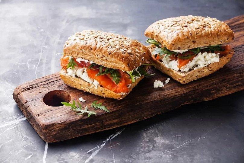 Бутерброды в здоровом питании-варианты