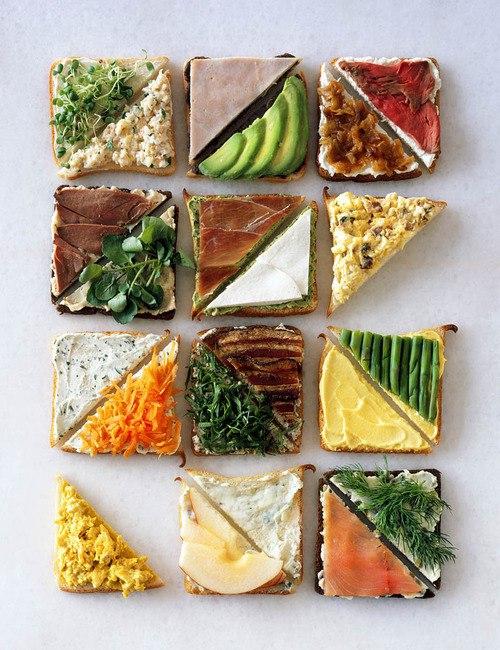 Бутерброды-варианты на каждый день