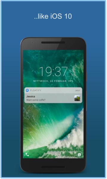 Как превратить Android-смартфон в iPhone X - Floatify Lockscreen для Android