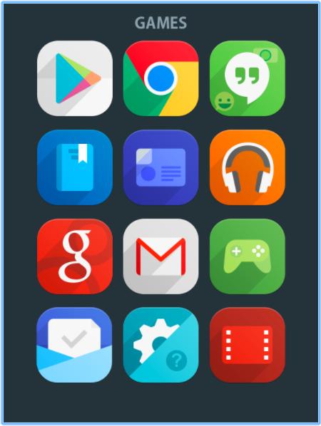 Как превратить Android-смартфон в iPhone X - Flui icon pack для Android