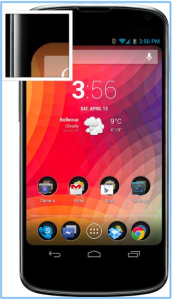 Как превратить Android-смартфон в iPhone X - Round Screen Corners для Android