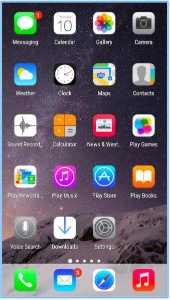 Как превратить Android-смартфон в iPhone X - TrueiOS - Icon Pack для Android