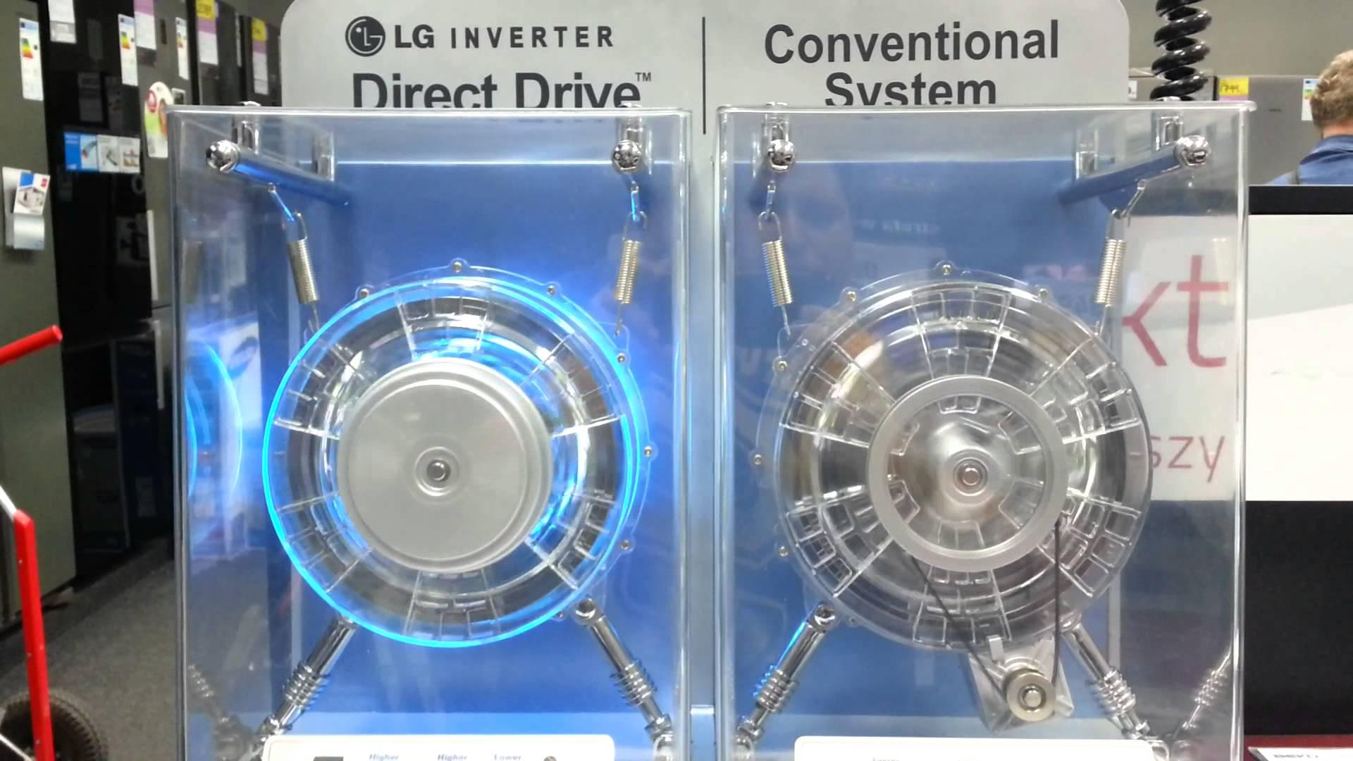 Как устроена стиральная машина_принцип работы - direct drive