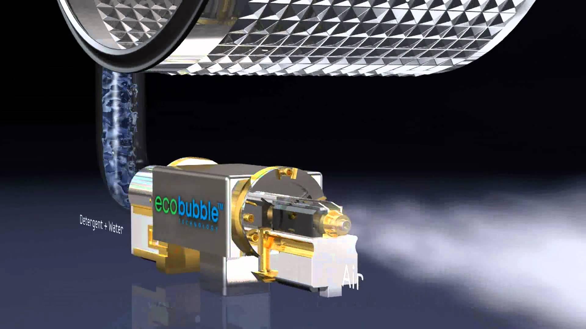 Как устроена стиральная машина_принцип работы - eco bubble
