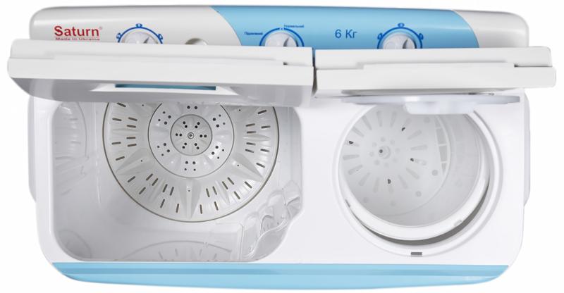 Как устроена стиральная машина_принцип работы - стиральная машина полуавтомат