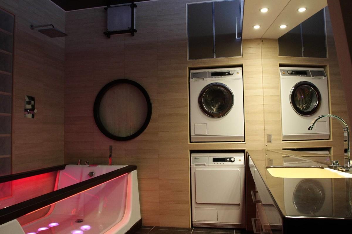 Как устроена стиральная машина_принцип работы - встроенная стиралка