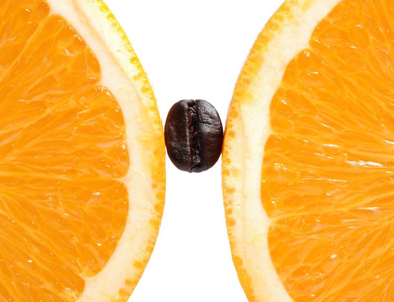 Кофе и апельсин-фото
