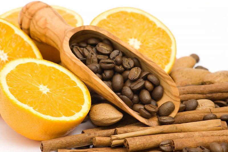 Кофе с алкоголем и апельсином-ингредиенты