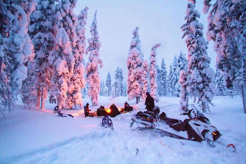 Лапландия-снег