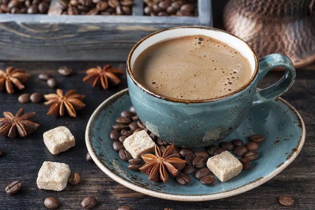 Марокко-кофе со специями