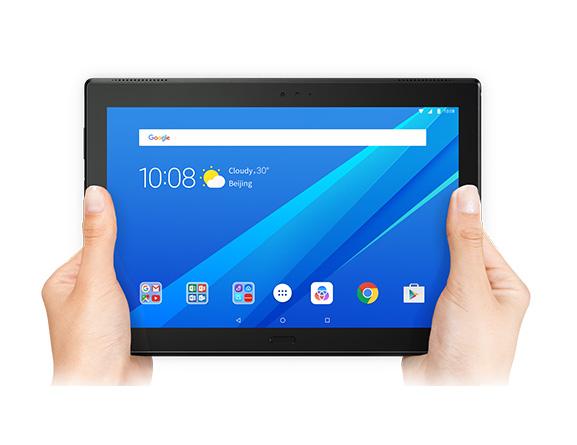 Обзор планшета Lenovo Tab4 10 Plus - Планшет в руках