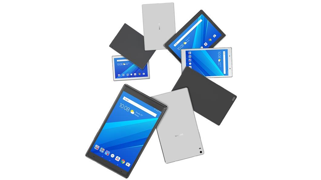 Обзор планшета Lenovo Tab4 10 Plus - планшеты в разных цветах