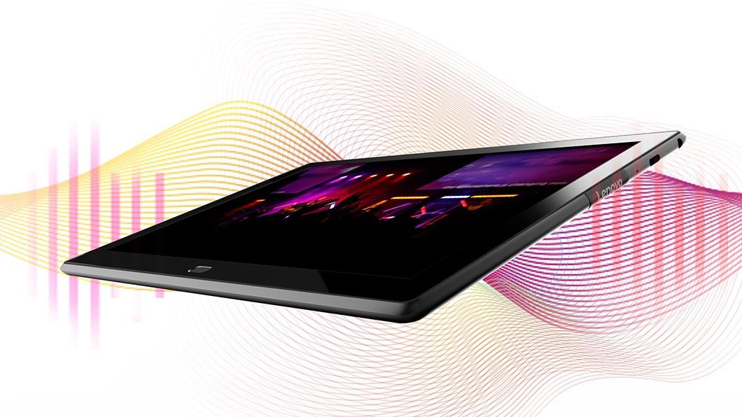 Обзор планшета Lenovo Tab4 10 Plus - звук из динамиков планшета