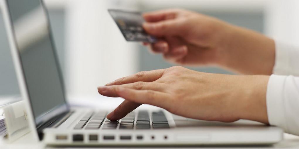 Оплата товаров в интернет-магазинах-банковская карта