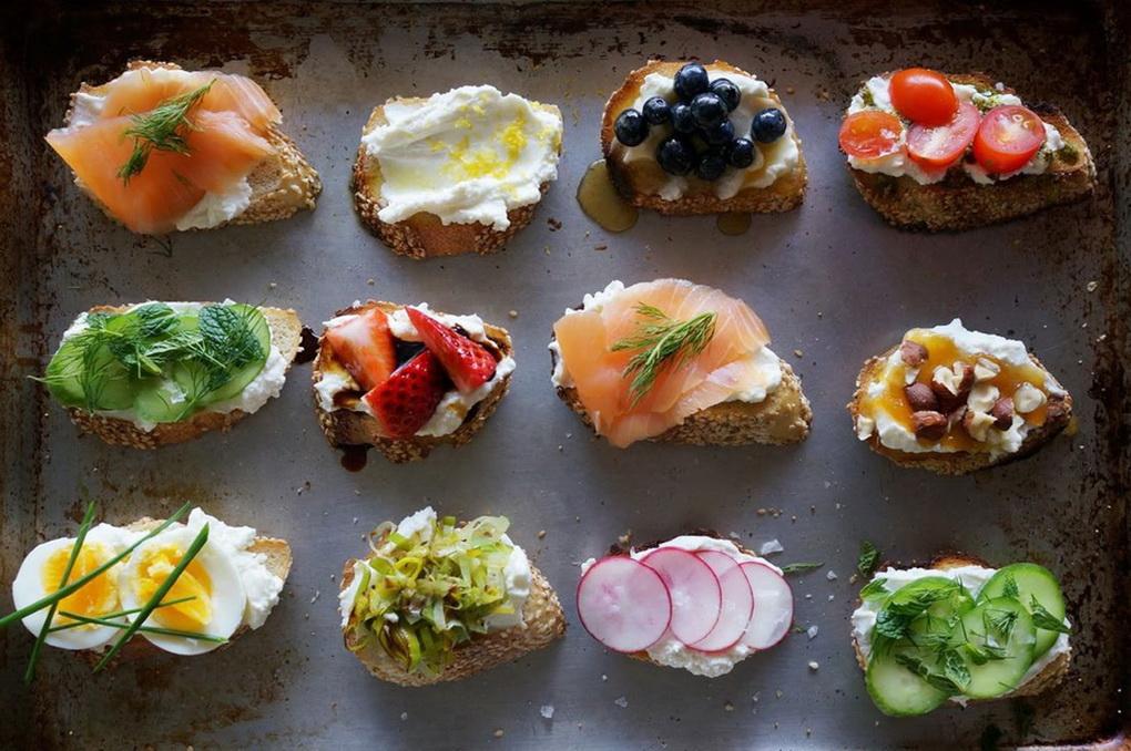 Полезные бутерброды-здоровый образ жизни