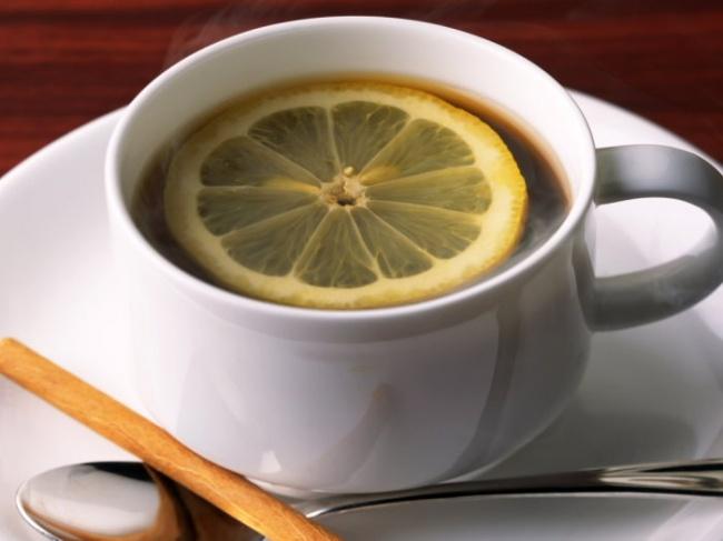 Римский эспрессо Италия-кофе с лимоном