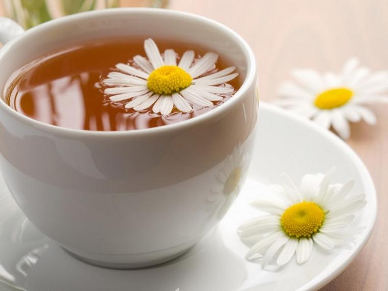 Ромашковий чай.