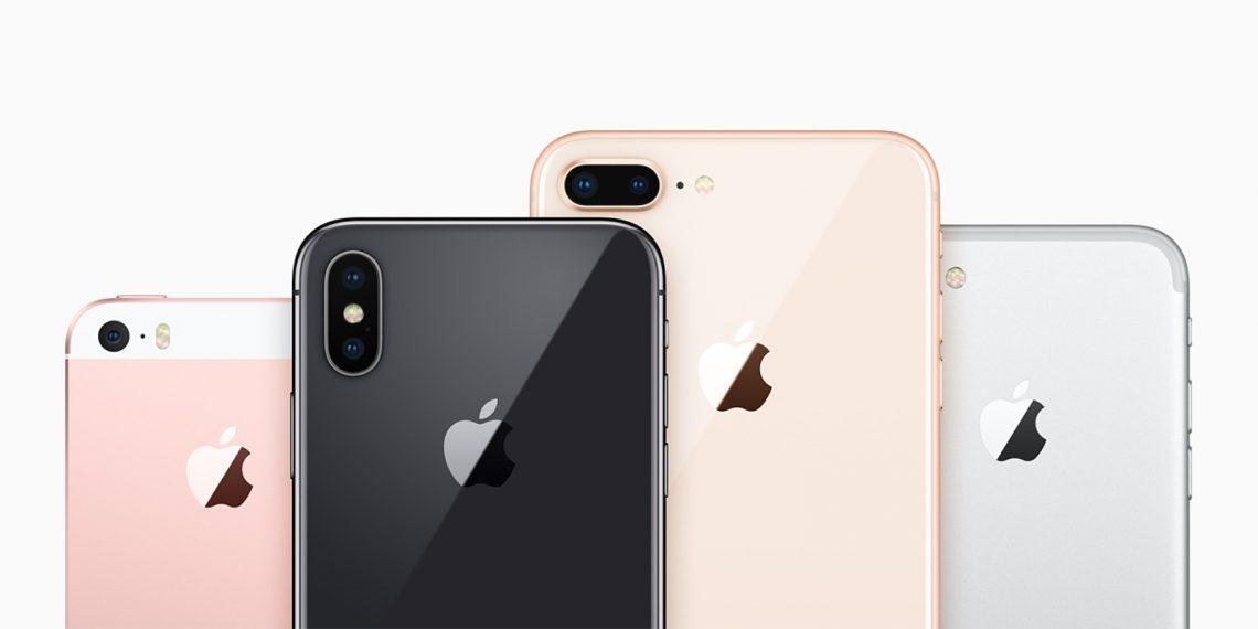Сравнение характеристик актуальных моделей iPhone - габариты и вес