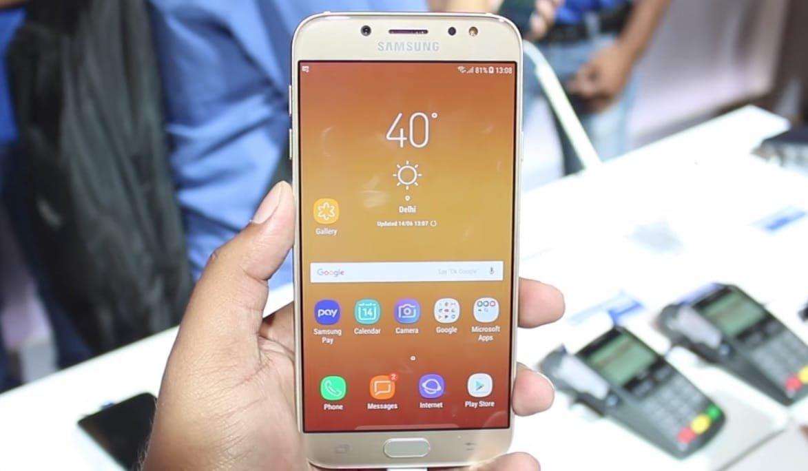 ТОП-10 смартфонов с емкими аккумуляторами - Samsung Galaxy J7 (2017)