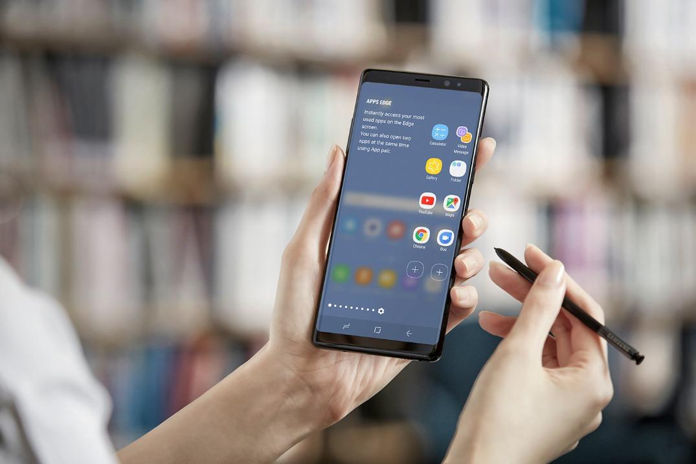 ТОП-10 смартфонов с емкими аккумуляторами - Samsung Galaxy Note 8