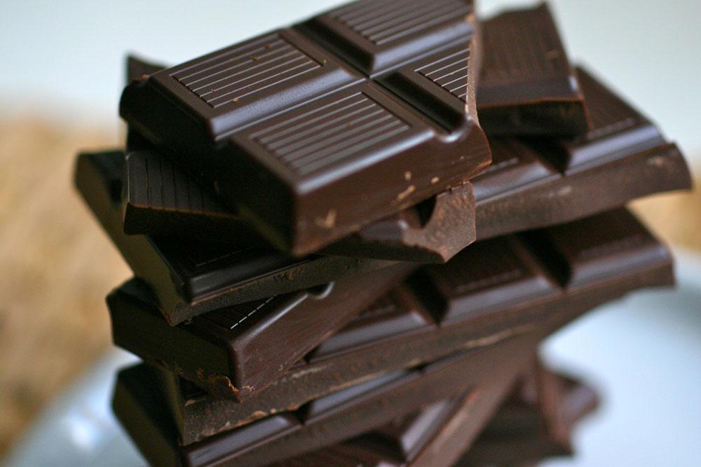 Темный шоколад-антиоксидант