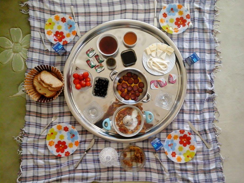 Турецкий завтрак-вариант