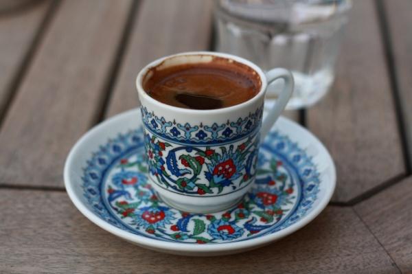 Турция-кофе с чесноком и медом