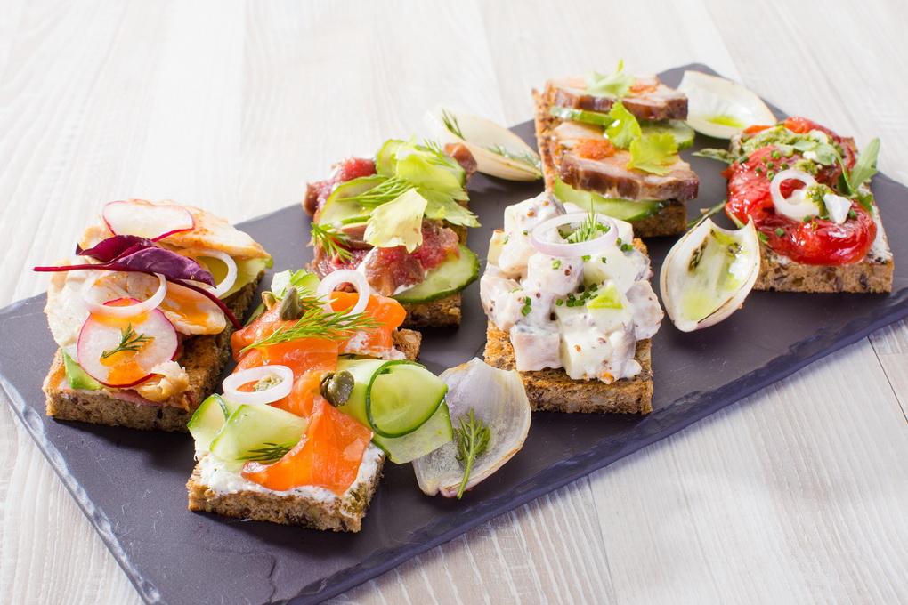 Вкусно и полезно-бутерброды и тосты