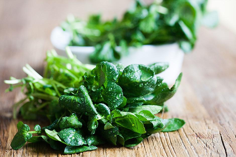 Зелень и здоровый образ жизни-фото