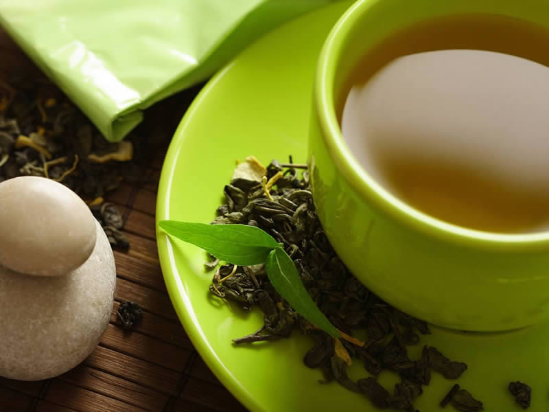 Зеленый чай-фото