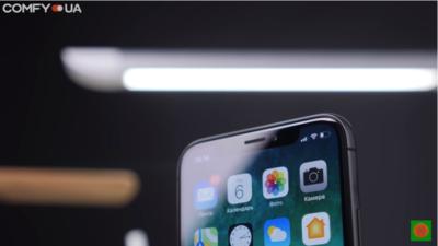 Безрамочный iPhone