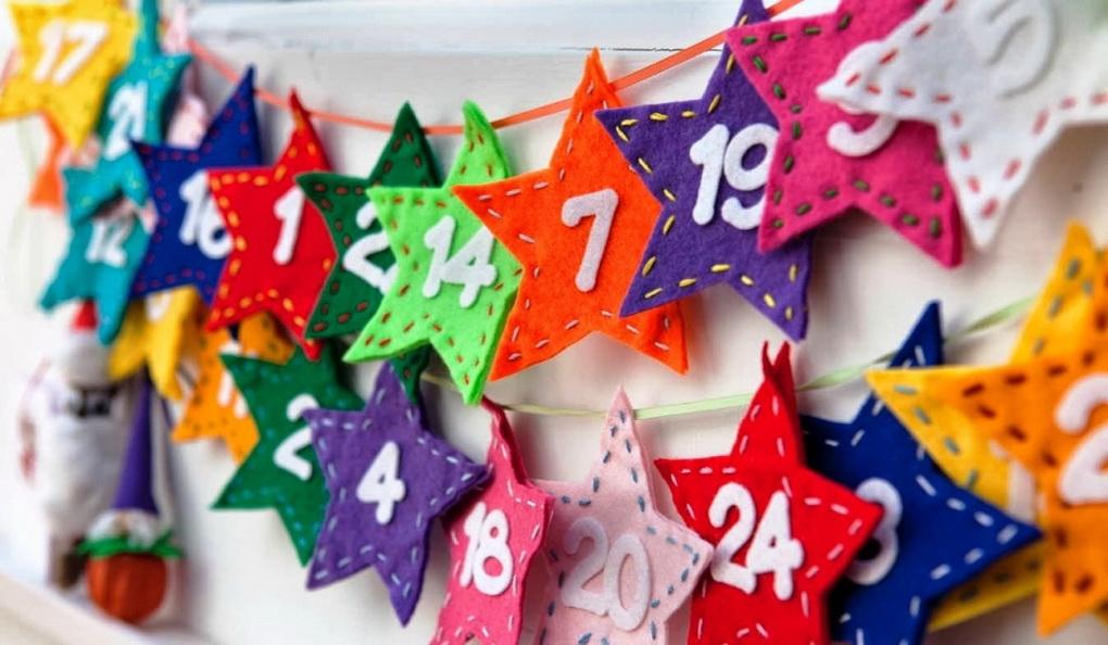 Адвент-календарь-для детей и взрослых