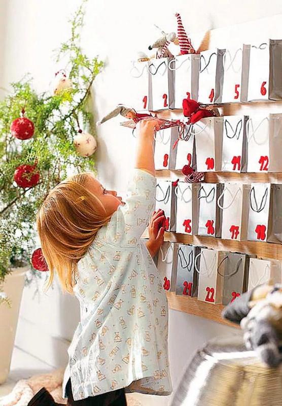Адвент-календарь-для детей