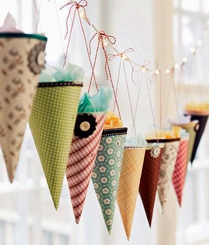 Адвент-календарь-handmade конусы
