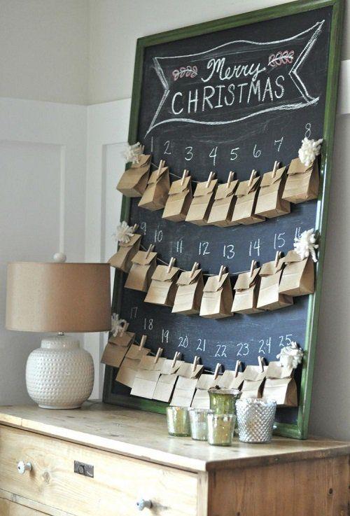 Адвент-календарь своими руками-handmade