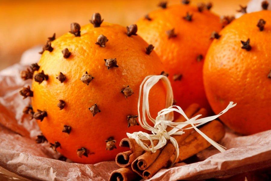 Апельсиновые саше-снятие стресса