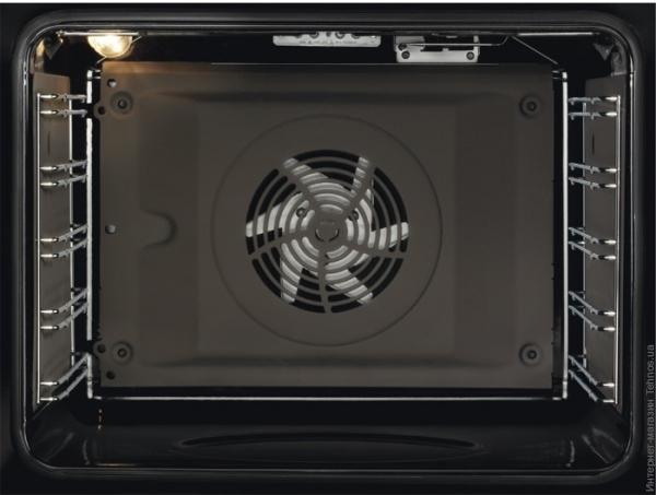 Ассортимент и обзор духовых шкафов Electrolux - духовка внутри