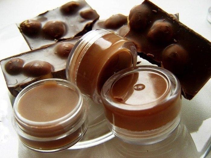 Бальзам для губ своими руками-шоколадный