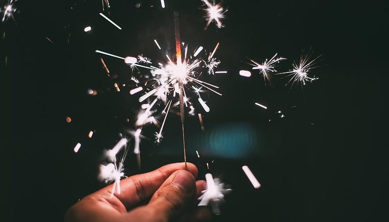 Бенгальские огни-Новый год