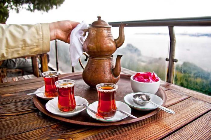 Чаепитие на свежем воздухе-Турция