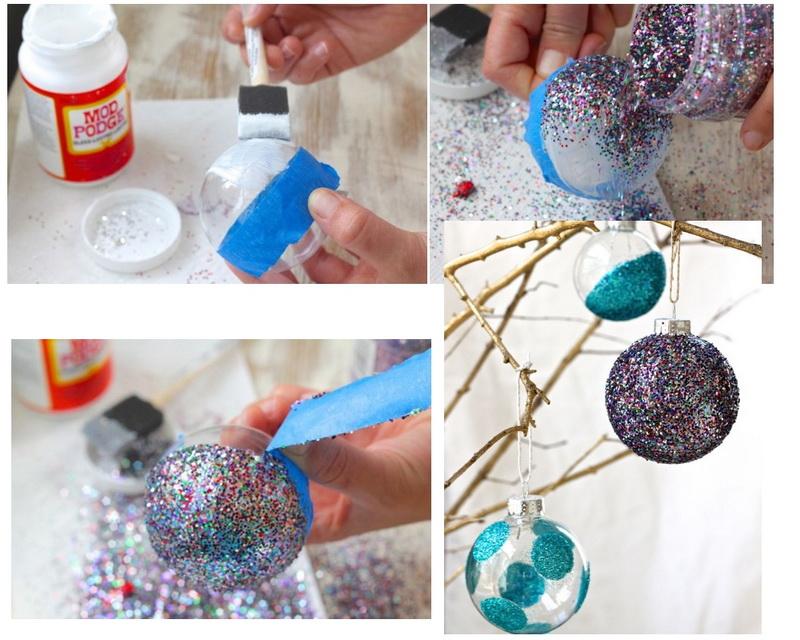 Декор украшений блестками-идеи и креатив