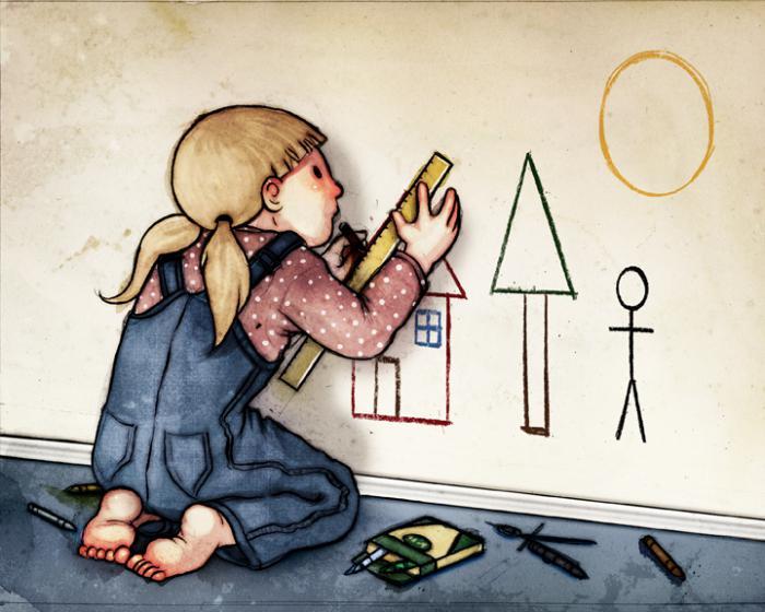 Девочка-перфекционист