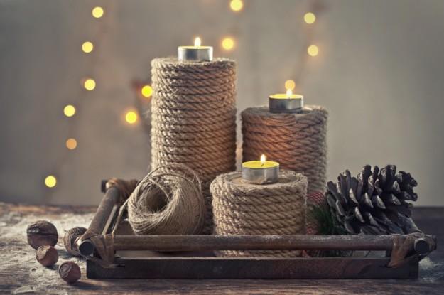 Экоподсвечник-идеи подарков